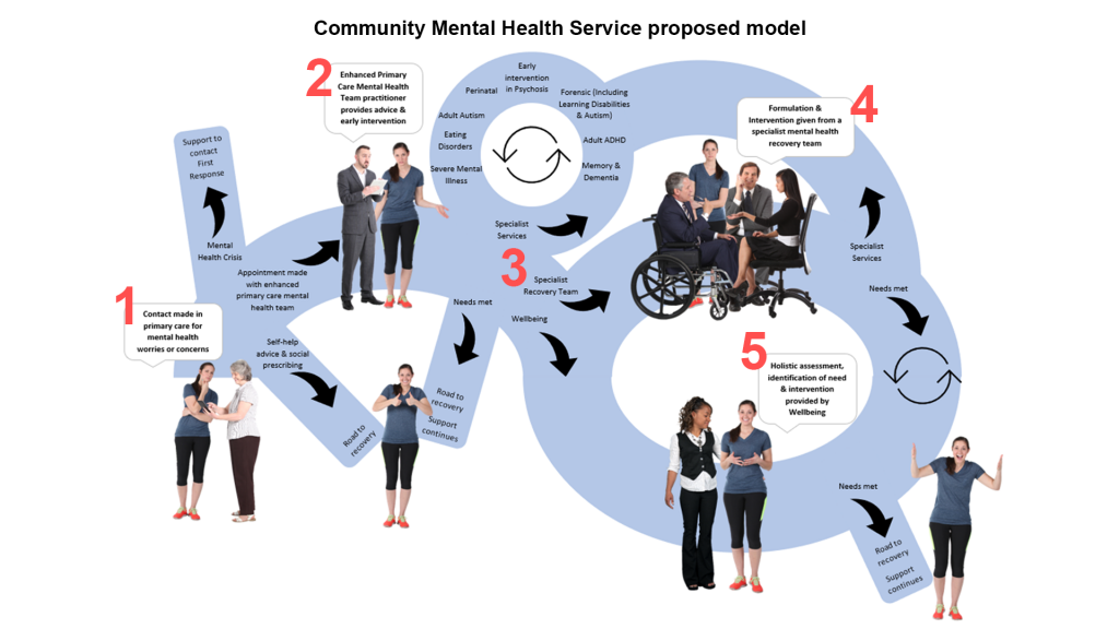 Community Mental Health Services proposed pathway