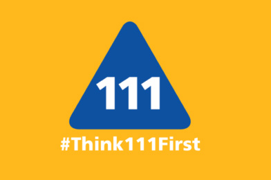 Think 111 first